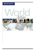 Rand McNally Premier World Atlas - Soft Cover