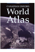 Canadian Oxford Atlas of the World - Hard Cover