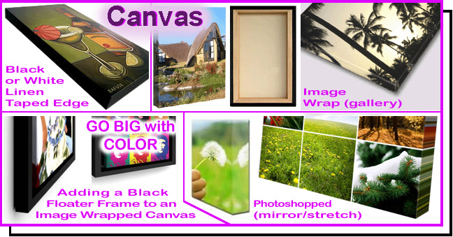 Canvas Output & Stretching / Canvas Transfer