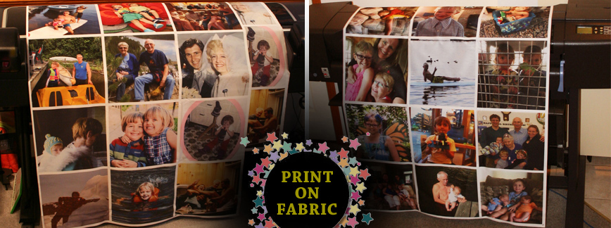 DIRECT PRINTING ON WHITE FABRIC AND POLY FABRIC