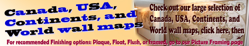 Click to experience visiting our Map Store with large selection of Wall Maps and other store items