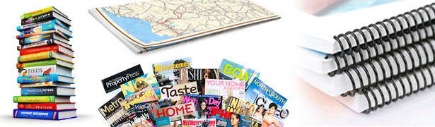 We offset press print books, magazines, booklets, guides, maps, and more...