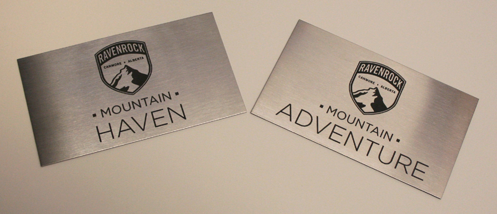 Engraved Stainless Steel Plates - Looks Fantastic - Lasts Indoors and Outdoors - Great Durability